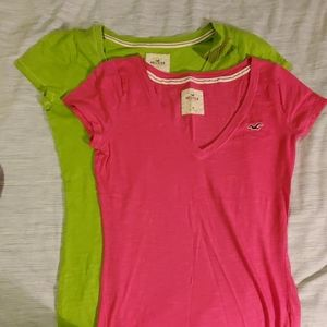 NEW Bundle of Hollister T-shirts size Medium